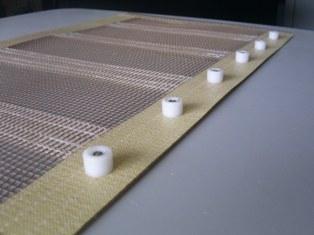 PTFE TEFLON Process Conveyor Belts